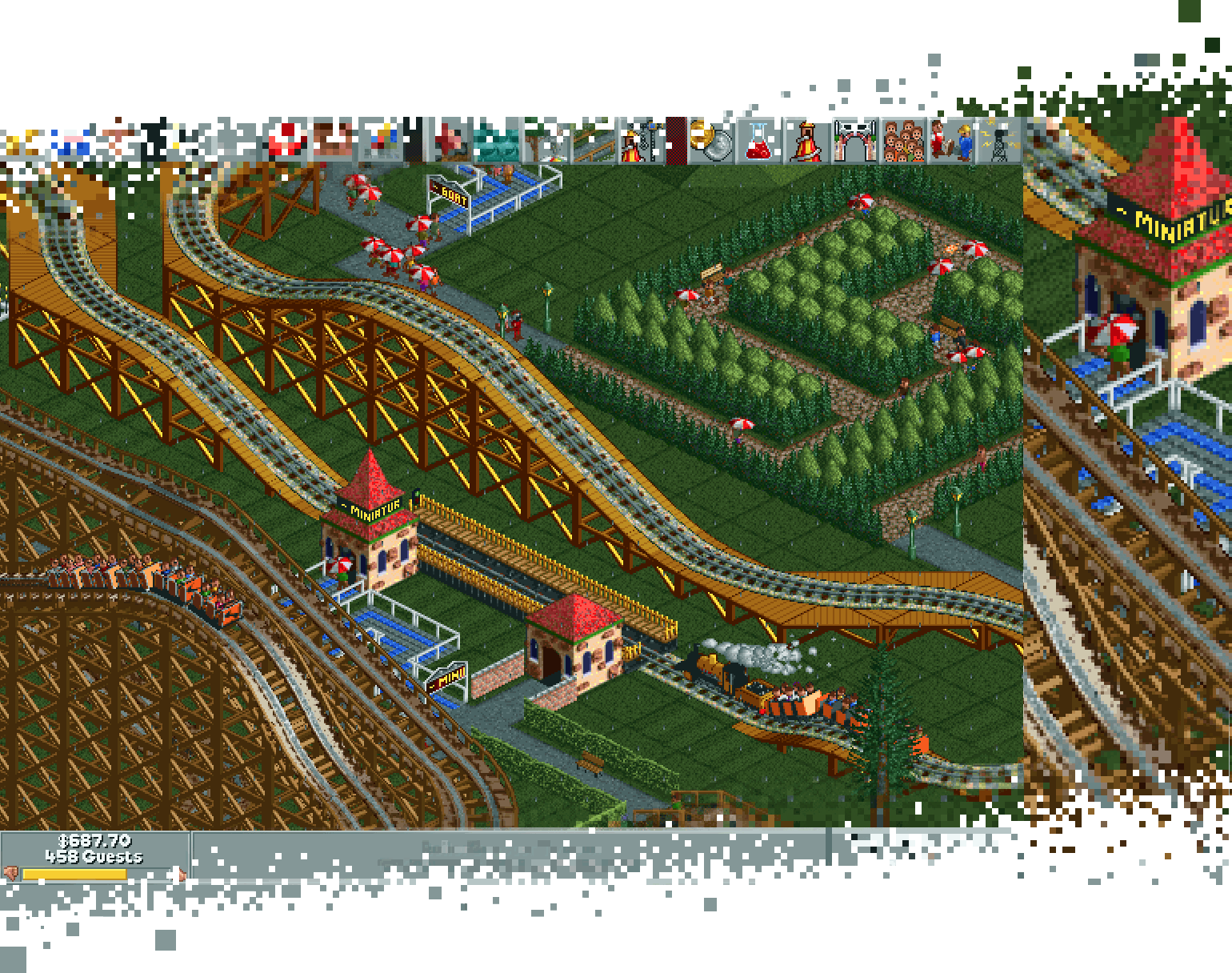 RollerCoaster Tycoon® 4 Mobile™ : On5  We make mobile games